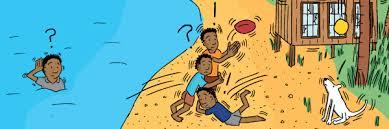 Summer curve swirl blue drop flow element scenic view. Geoscience Australia Booklets Stuart Mcmillen Cartoon Commissions