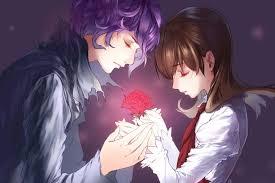 romantic animated couple