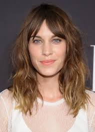 Picture Of Medium Length Hair Style How To Nail The Mediumlength Hair Trend Hair Icon Alexa Chung 2912 by wearticles.com