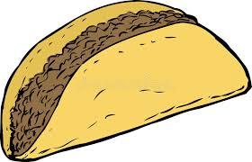 Resultado de imagen de tacos con solo carne