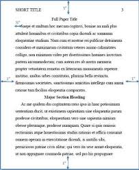 Samples Of Apa Research Papers Sample Apa Research Paper Tutoring College Students With Ad H D