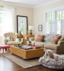 High Quality ... Casual Living Room Ideas Striped Pink Pillows Pick Up The Perky Blush  Of A Retro Cream ... Awesome Ideas