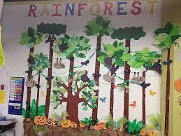 preschool classroom wall decorations best of rainforest classroom crafts work