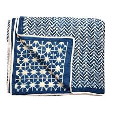 blue cotton quilt. Brilliant Blue Contemporary Queen Nila Tara Navy Blue Cotton Quilt On N