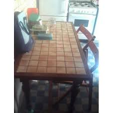Table De Cuisine Carrelée Achat Vente De Mobilier Rakuten