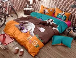 image of awesome pattern linen bedding sets