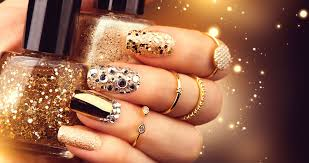 Top 10 Nail Designs Top 50 New Years Nails Designs To Look Sparkling Yve