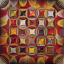 84 best Karen Stone's. QUILTS images on Pinterest | Jellyroll ... & Indian Orange Peel Quilt pattern by Karen Stone Adamdwight.com