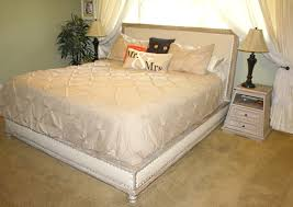 Maison Bedroom Furniture Ana White Wood And Upholstered Bed King Diy Projects