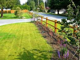 flower bed fencing ideas