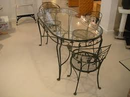 salterini wrought iron furniture. Wrought Iron Patio Table And Chairs For New Ideas Vintage Salterini Dining Furniture R