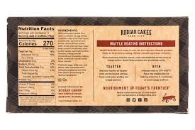 kodiakcakes 15oz powerwaffles chocchip facts