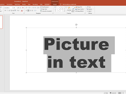 When i try to add a vertical straight line, it is always slightly tilted (~2 degrees). How To Add A Picture Inside The Text On A Powerpoint Slide