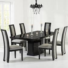 Amazing Black Marble Dining Table And 28 For Black Dining Room Table With  Black Marble Dining