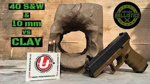 40 S W Vs 10mm Vs Clay