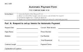 Credit Request Form Template Generic Application Clergy Payment
