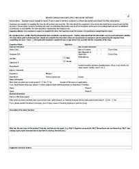 Injury Incident Report Template To Construction Accident Report Form