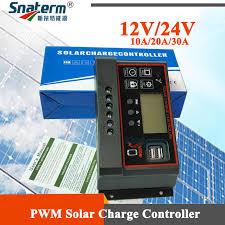 <b>60A 50A 40A</b> 30A 20A 10A Solar PV Charge Controller 12V/24V ...
