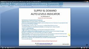 supply and demand tools and indicators set and forget by alfonso  supply and demand automatic levels indicator for metatrader 4