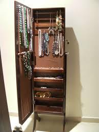 mesmerizing full length mirror jewelry armoire 29 jewelry1