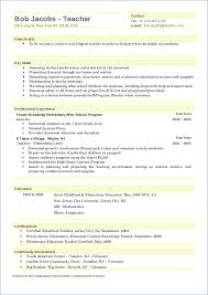 What To Put For Objective On A Resume Early Childhood Resume Objective Artemushka 100
