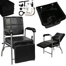Amazon.com: LCL Beauty Shampoo Package: Reclining Shampoo Chair ...