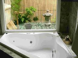 ... Bathtubs Idea, Inspiring Corner Whirlpool Tubs Ikea Home Shopping With  Curtains And Flowers And Statue ...