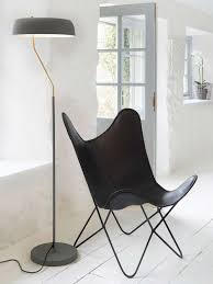 Luxury <b>Black</b> Leather <b>Butterfly Chair</b> | Scandi <b>Butterfly Chair</b>