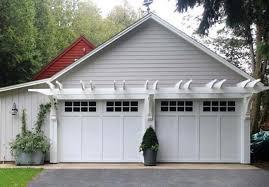 garage door overhang