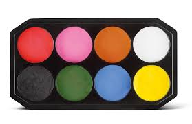 Par Paint Colour Chart How To Face Paint Snazaroo