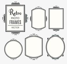 Vintage frame design png Vector Vintage Frame Design Vector Material Vintage Vector Frame Vector Black And White Pngtree Vintage Frame Design Vector Material Vintage Vector Frame Vector