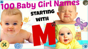 3 100 baby names starting with letter m you