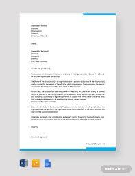 Solicitation Latter Free Solicitation Letter For Sponsorship Template Word