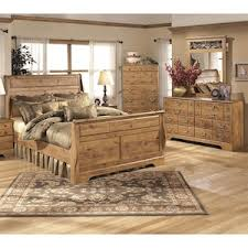 Bittersweet 4 Piece King Bedroom Set in Light Brown