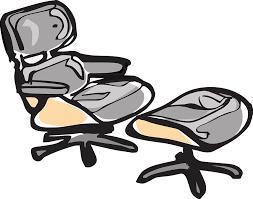 chair footstool office massage comfortable
