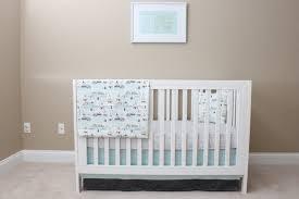 woodland crib bedding baby bedding modern nursery set nature