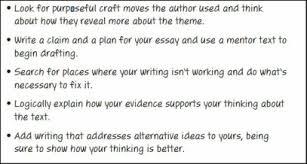8th Grade Essay Examples Thematic Essay 8th Grade L A