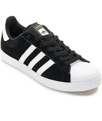 adidas shoes superstar black and white. adidas superstar vulc adv black \u0026 white shoes and zumiez