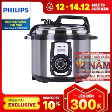 Tới Nơi Bán Giá Rẻ Nồi Áp Suất Điện Philips HD2103 (5L) - Khuyến Mãi Hàng  Ngày