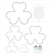 Free Paper Flower Templates Printable Free Printable Flower Templates Free Printable Flower Template
