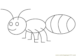 Small Picture Ant Coloring Pages GetColoringPagescom