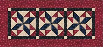 Free Quilt Patterns - Fat Quarter Shop - Moda Marbles Stars Free ... & Moda Marbles Stars Tablerunner. Printable version of FREE Pattern ... Adamdwight.com