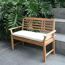 4ft bench seat cushions home 4 foot teak garden with taupe pad bedrooms of london childhood