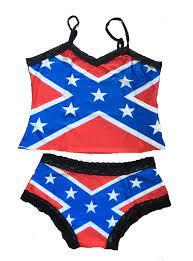 Confederate flag sexy shirt