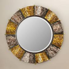 impeccable large round wall mirror bathroom extra