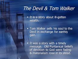 the devil tom walker pgs washington irving ppt video online 8 the devil tom walker it