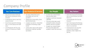 Employee Profile Format Blue Corporate Travel Profile Template Company Format Co