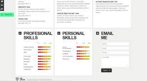 Creative Web Html Resume Template | Web Html Resume Template | Pixeden