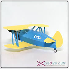 This cute free plane svg is the perfect die cut to add to your collection. 3d Paper Plane Vintage Biplane Cre8ive Cutz