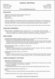 College Graduate Resume Sample Fascinating College Graduate Resume Examples Inspirational Resume Example For
